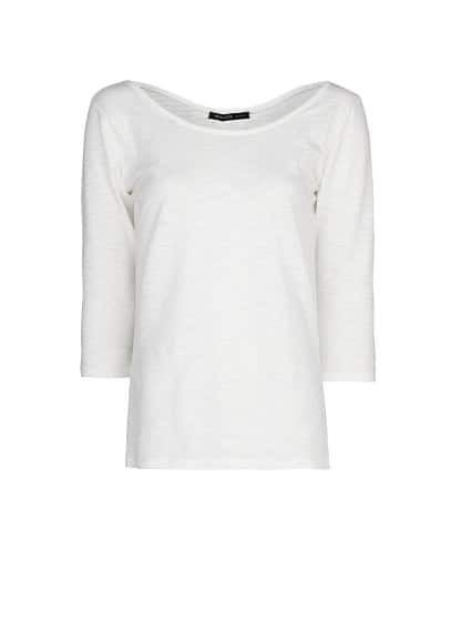 Slub-cotton t-shirt