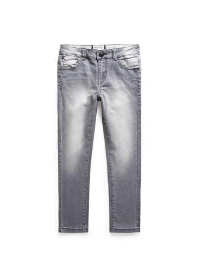 Slim-fit grey jeans