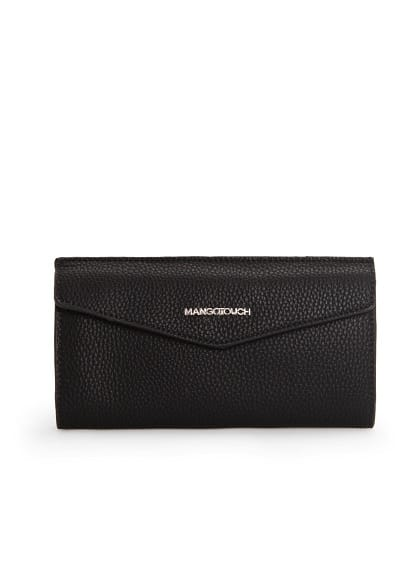 Pebbled texture wallet