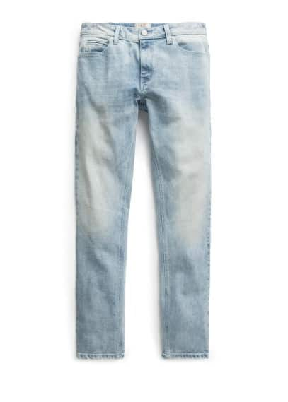 Alex slim-fit bleached jeans