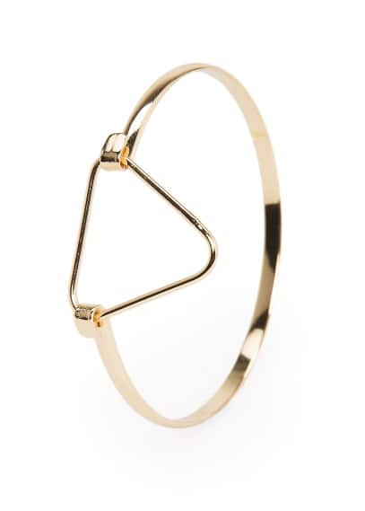 Triangle metal bracelet