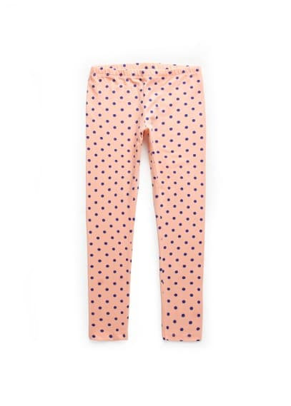 Leggings à pois