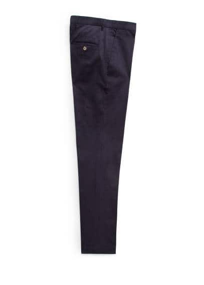 Katoenen Premium slim-fit chino