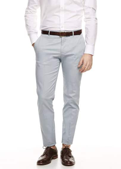 Chino Premium slim-fit algodón