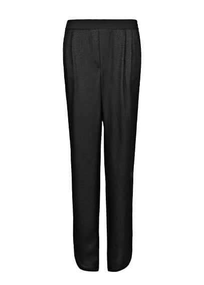 Animal texture baggy trousers