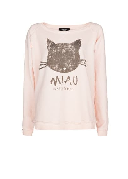 Sweat-shirt coton Miau