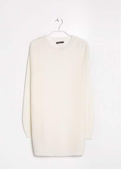 Pull-over long mohair