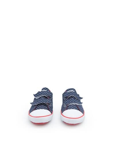Velcro canvas sneakers