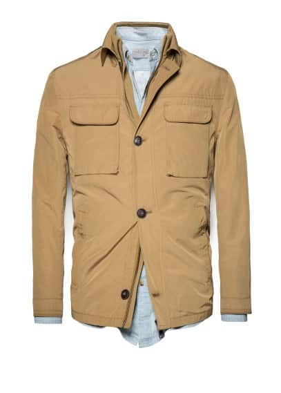 Field jacket passanti