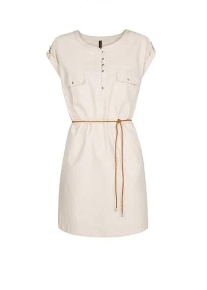 Shirt cotton dress