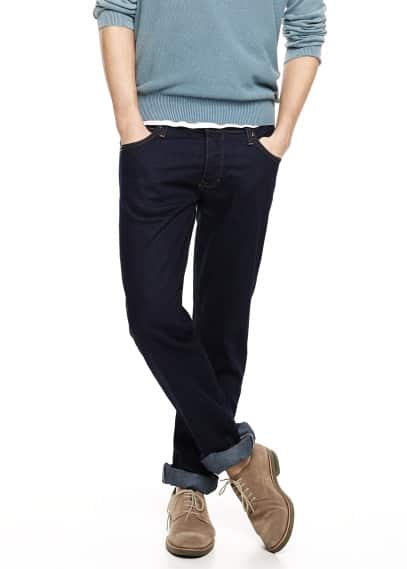 Jeans straight-fit Bob scuri