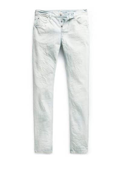 Jeans Steve slim-fit lavaggio bleach