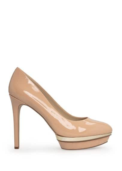 Platform stiletto shoes