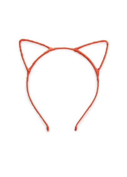 Kitten ear hairband