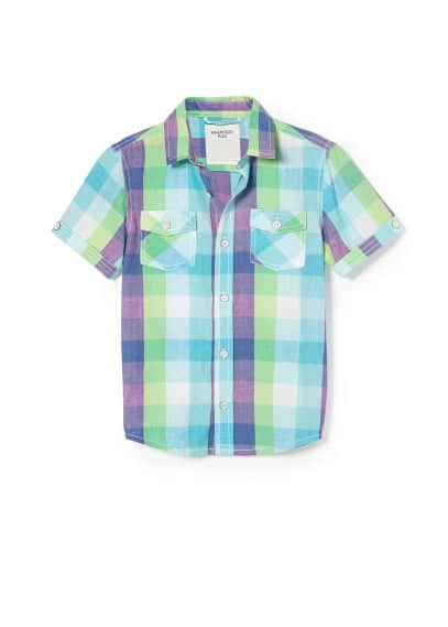 Check multicolor shirt