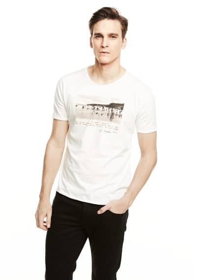 The Hamptons print t-shirt