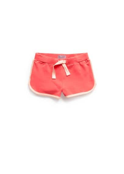 Trim jogging shorts