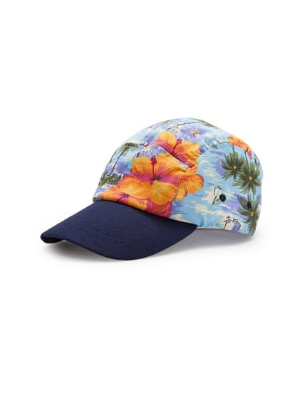 Gorra ajustable tropical