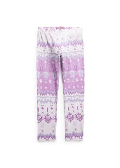 Leggings à imprimé ikat