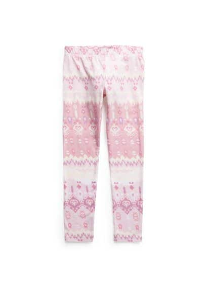 Leggings mit Ikat-Muster