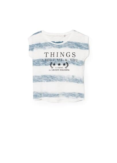 "Gestreiftes T-Shirt ""Things"""