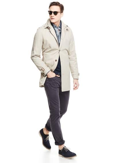 Trench coton imperméable