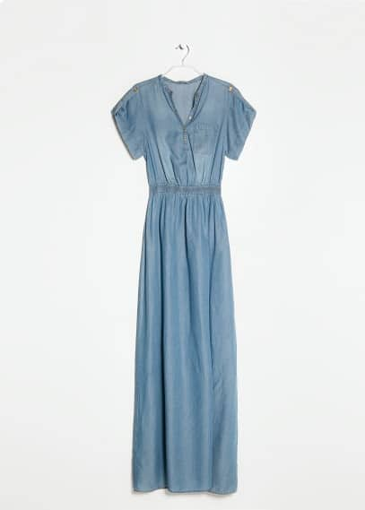 Tencel long dress