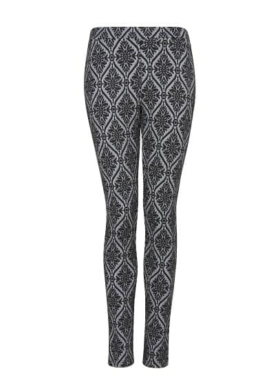 Leggings à motif baroque