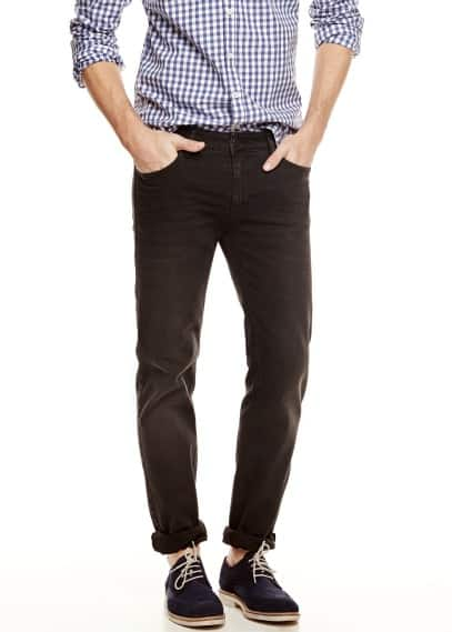 Slim Fit Jeans Alex schwarz