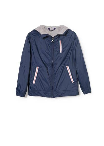 Trim nylon jacket
