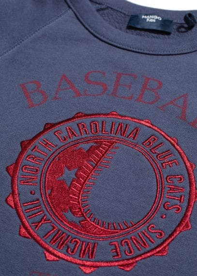Sweat-shirt Baseball Team