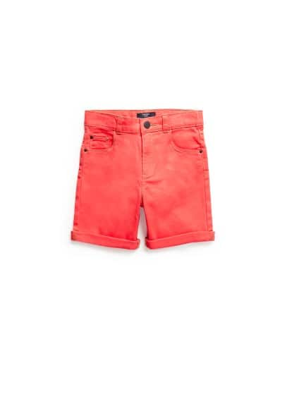 Shorts costura contrast