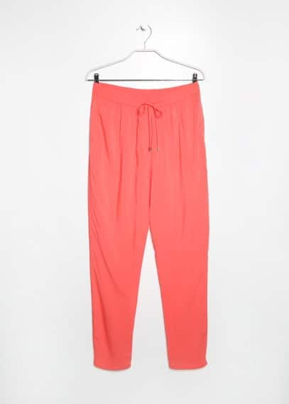 Lightweight baggy trousers