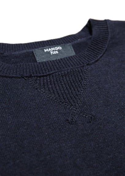 Stitch detail sweater