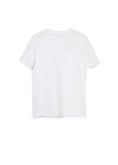 Pocket cotton t-shirt
