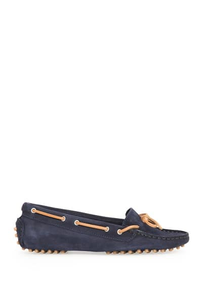Suede driving shoes