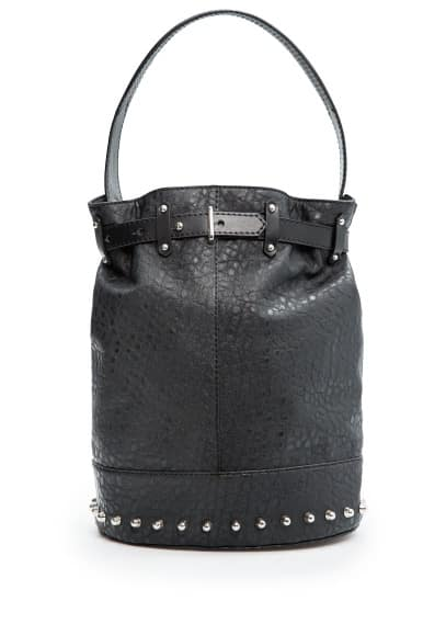 Bucket bag met studs