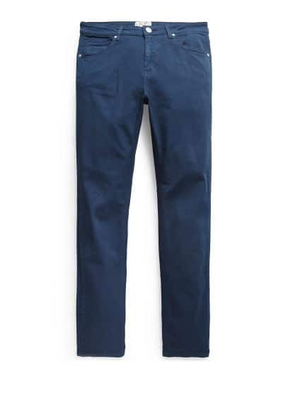 Super slim-fit navy Patrick jeans
