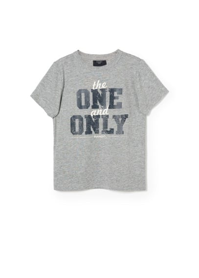 The One print t-shirt