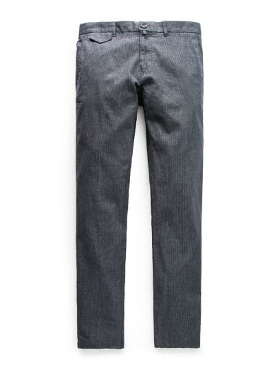 Chino slim-fit pata de gallo