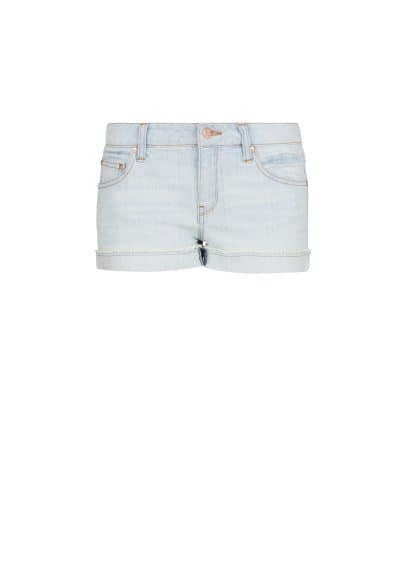 Short denim bleach