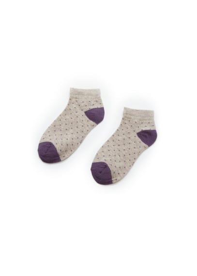 Pack polka-dot socks