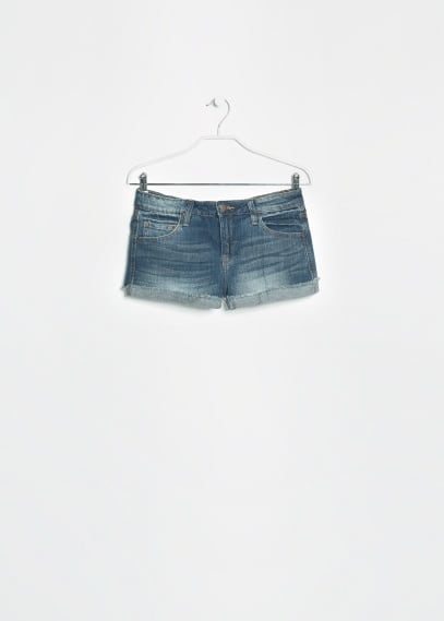 Short denim oscuro