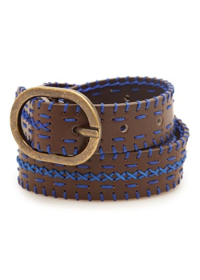Contrast detail belt