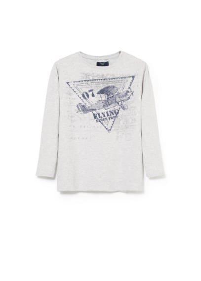 Airplane cotton t-shirt