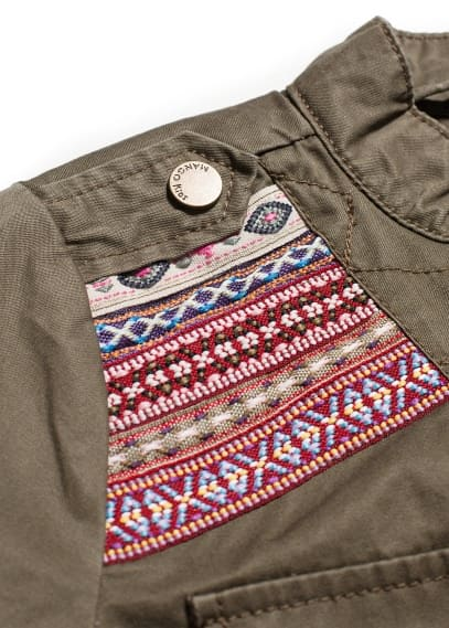 Ethnic embroidered jacket