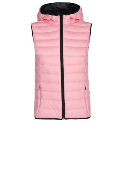 Fitness & Running - Outdoor bodywarmer met capuchon