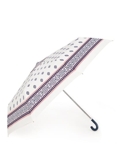 Scarf print umbrella