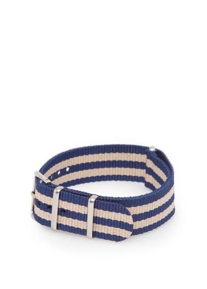 Verstellbares Canvas-Armband
