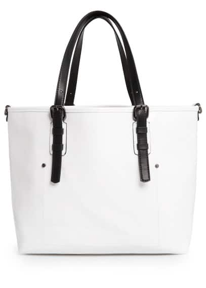 Bolso shopper charol